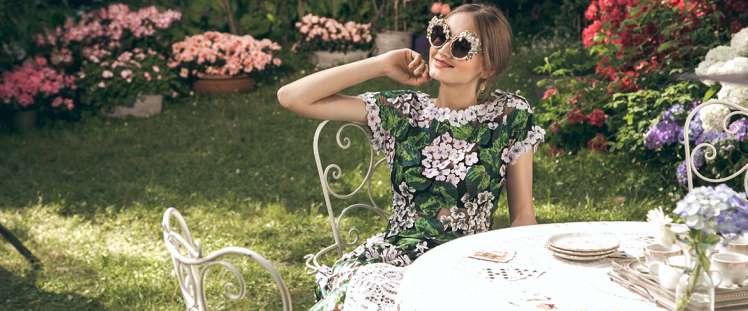 Occhiali da sole Dolce&Gabbana sono preziosi come gioielli e scenografici come piccole sculture