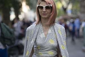 Gli occhiali da sole più caratteristici alla Milano Fashion Week