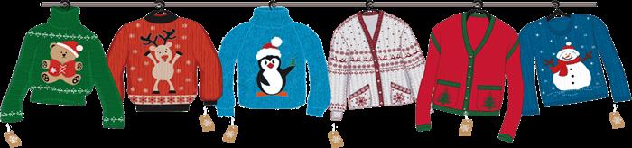 Indossa un maglione natalizio e regala un sorriso ai bambini bisognosi