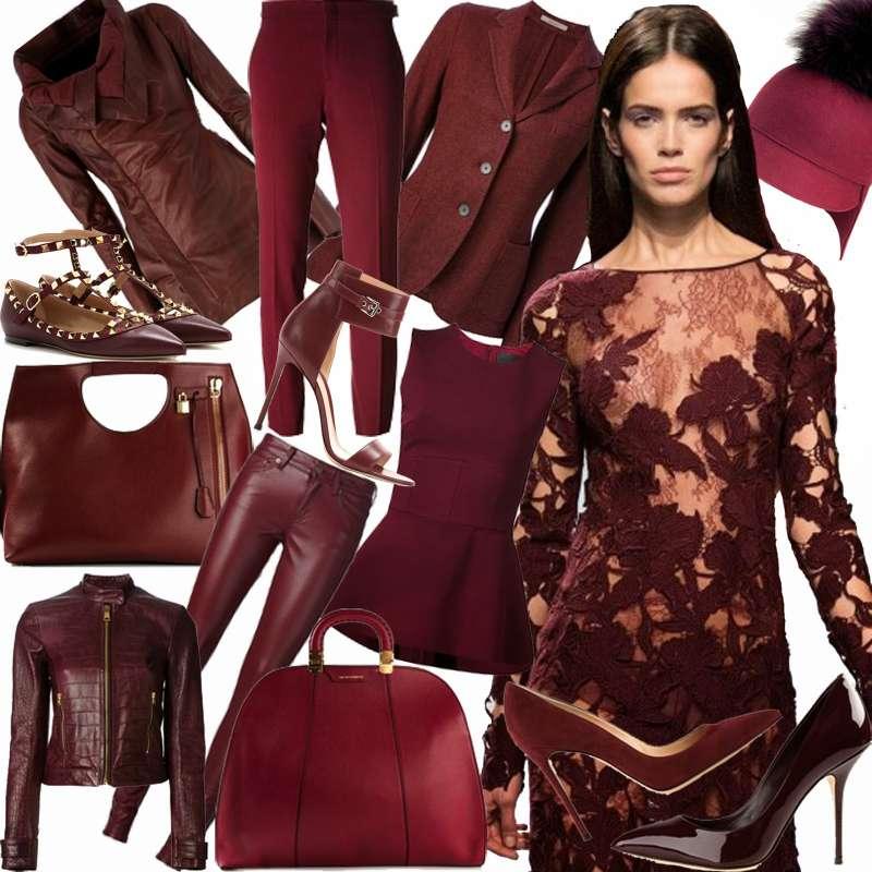 In questa stagione il bordeaux rientra nella top ten dei colori più amati dagli stilisti
