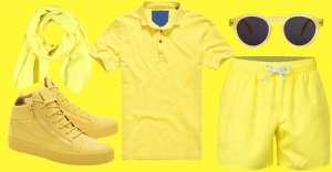 Il giallo è un colore declinabile in tutte le occasioni