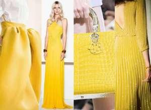 Il giallo è uno dei colori più grintosi della palette cromatica