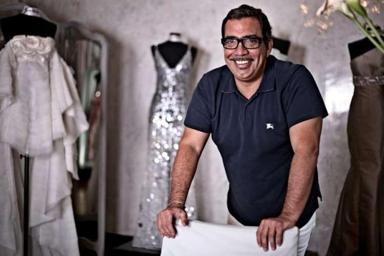 Due modelli creati da Guillermo Mariotto, stilista della famosa casa di moda Gattinoni