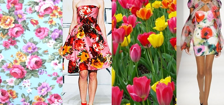 Eterni ritorni vestiti floreali