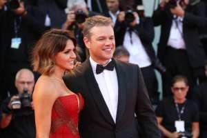 E per finire: Luciana Barroso e Matt Damon, la coppia più romantica di Hollywood e di Venezia