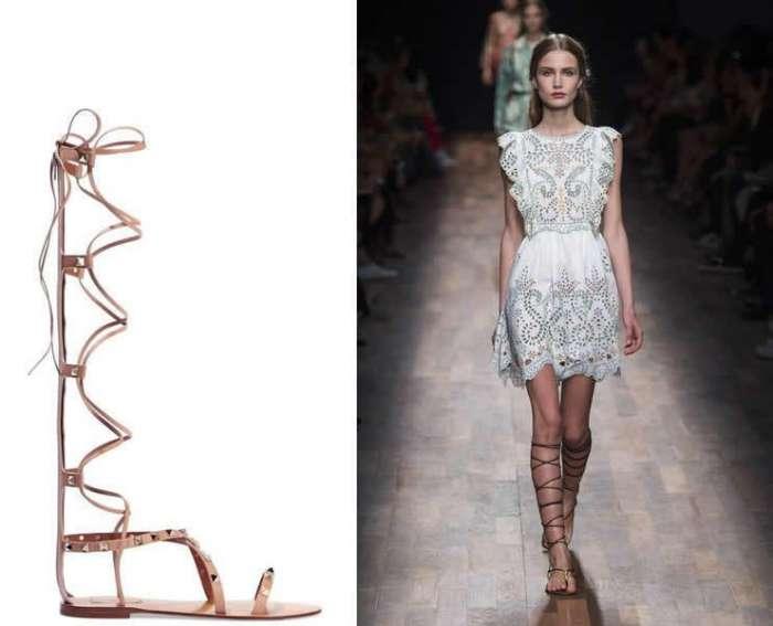 Quest'anno la moda strizza l'occhio al passato, all'antica Grecia ed ai gladiatori romani
