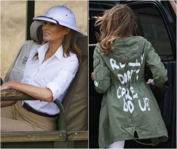 Melania Trump in Africa