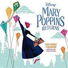 calendario Disneyispirato alla locandina del film Mary Poppins